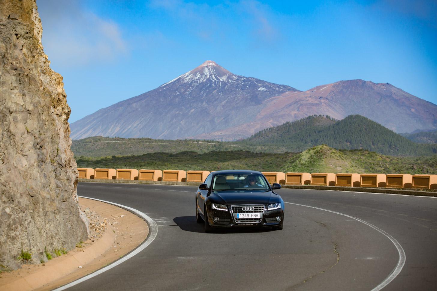 Auto rijden op Tenerife