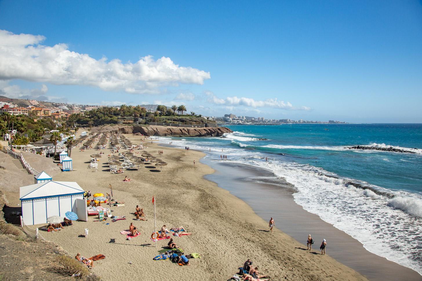 De toeristische kant van Tenerife