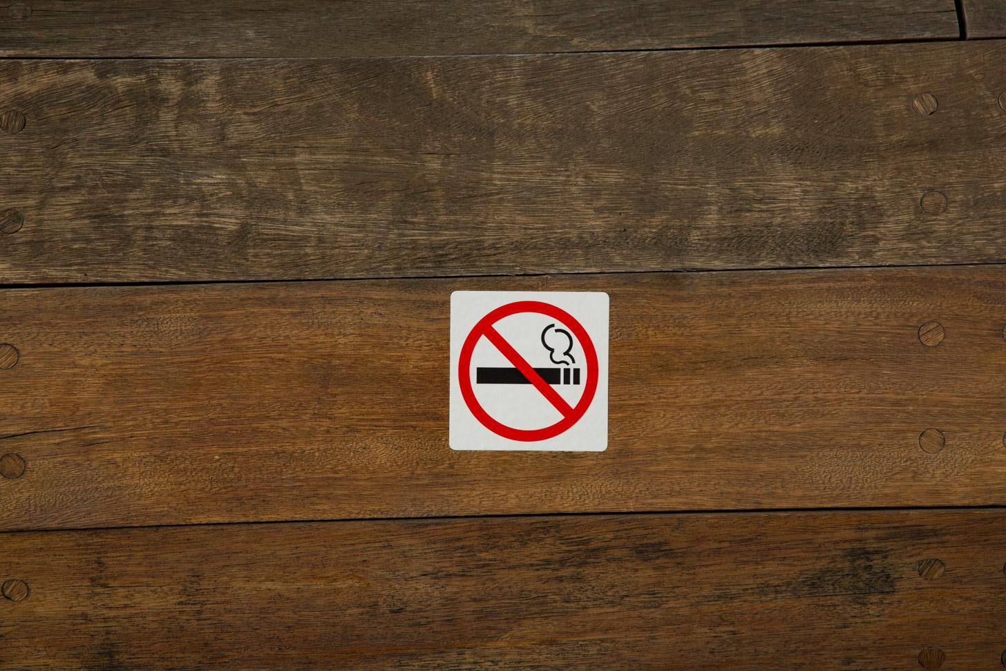 Op veel plekken geldt een rookverbod