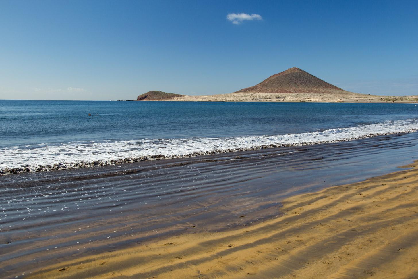 Gouden strand op Tenerife