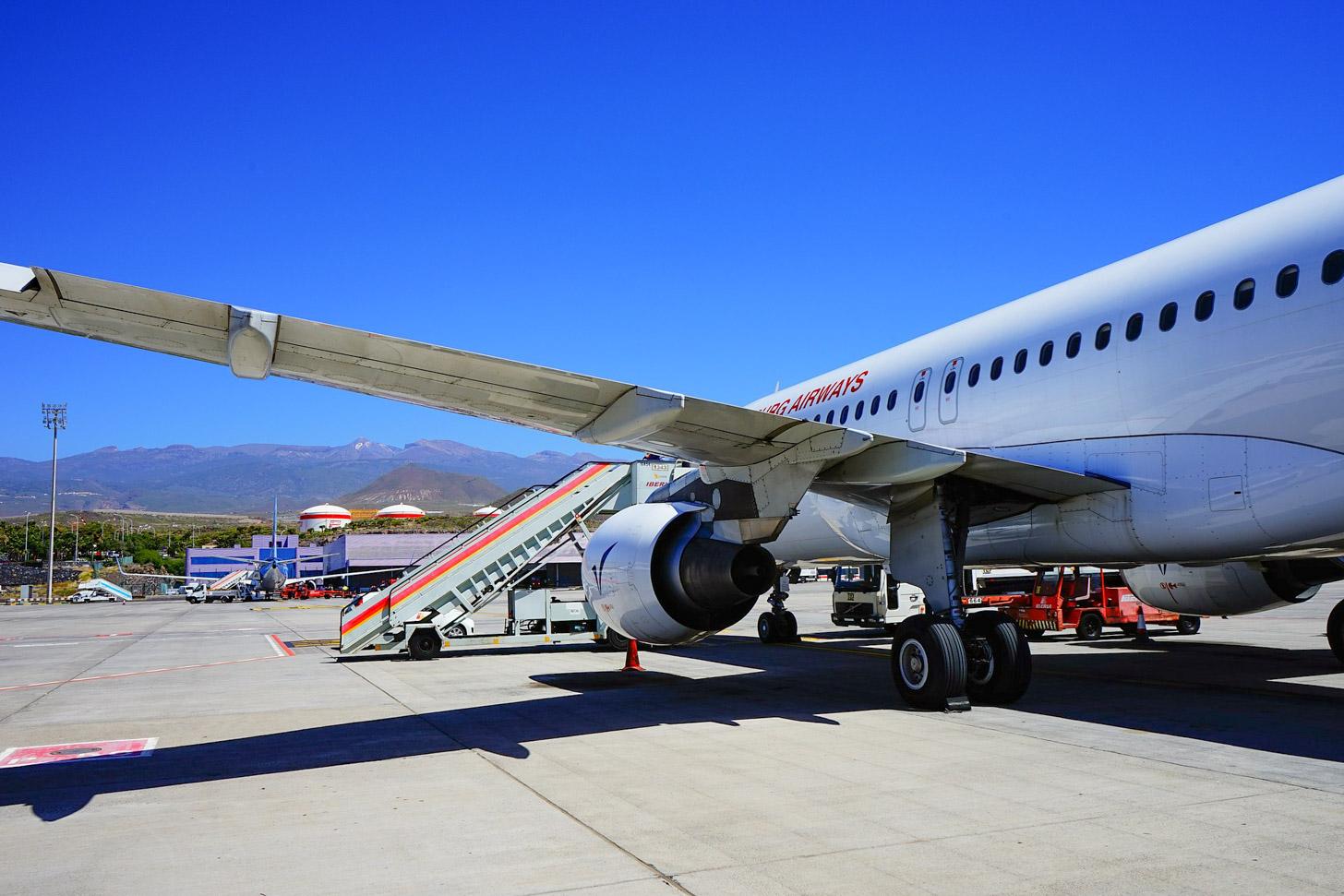 Vliegen naar Tenerife